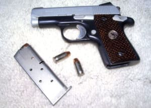 Photo Gallery of Custom Work by Dark Eagle Custom - Colt Mustang Pocketlite 380 Auto
