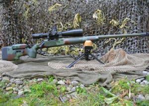 Photo Gallery of Custom Work by Dark Eagle Custom - Remington 700 338 Lapua