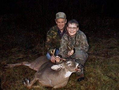 Proud Grandpa with a Buck Danny Got