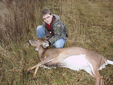 One of Danny's Many Deer, Helping to Fill the Freezer