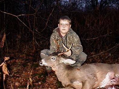 Danny's First Buck Shot with a Handgun