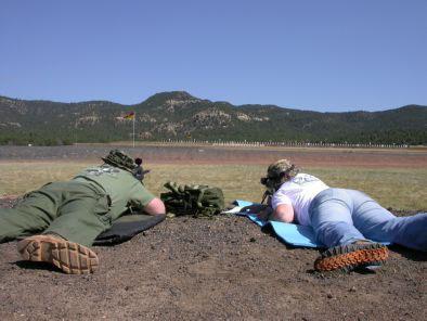 Danny at the NRA Whittington Range, Raton, NM