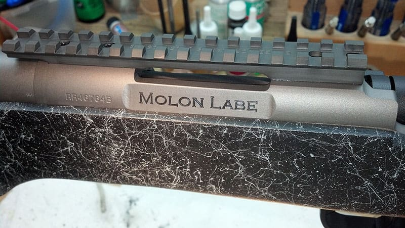 Photo Gallery of Custom Work by Dark Eagle Custom - Remington Slab Sided with Engraving