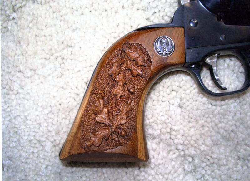 Photo Gallery of Custom Work by Dark Eagle Custom - Ruger New Model Blackhawk 357 Magnum